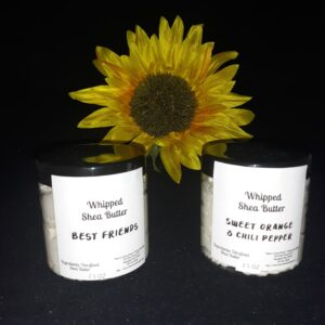 Wipped Shea Butter - Best Friends - Sweet Orange and Chili Pepper